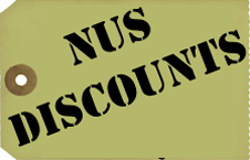 NUS Student Discounts
