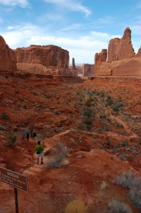 Hiking Utah with Bindlestiff Tours
