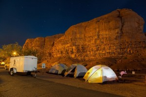Southwest USA camping tours with Bindlestiff Tours