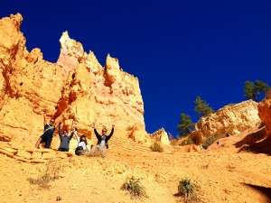 Hiking the Hoodoos with Bindlestiff Tours Yellowstone tour form Las Vegas