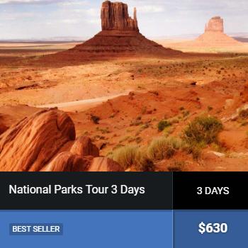 natnl3day - SOUTHWEST USA TOURS
