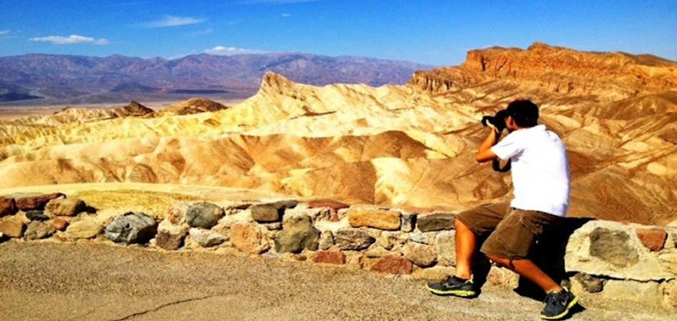Death Valley Photography Tourist