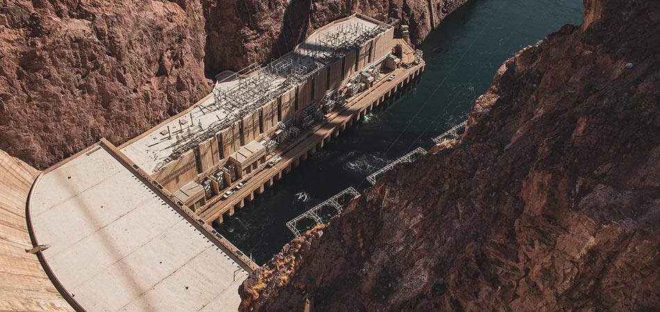 Hoover Dam Colorado River Overlook