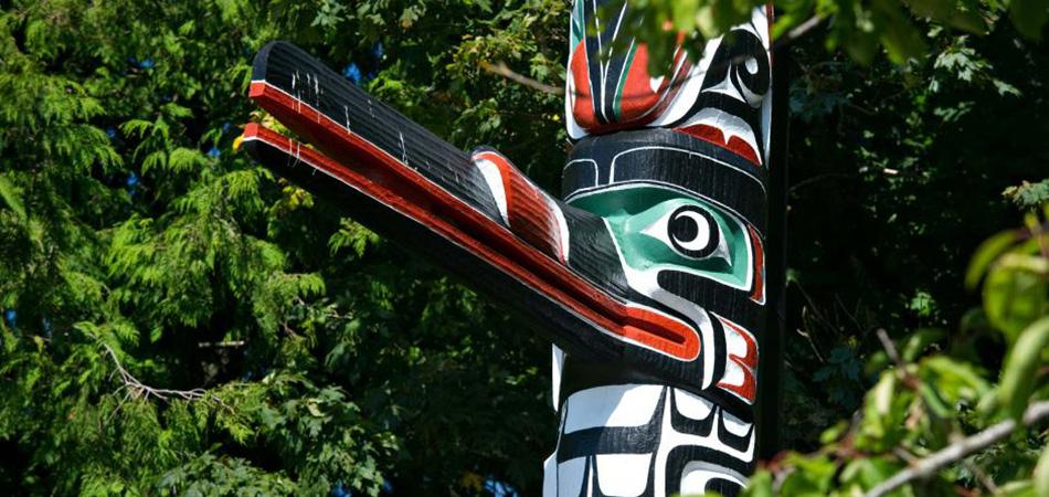 Vancouver Island Totem Pole