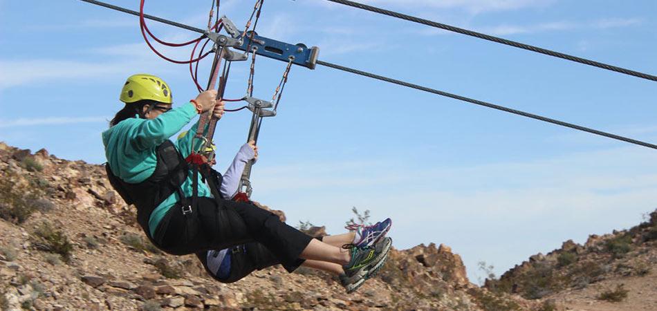 Bootleg Canyon Zipline 3