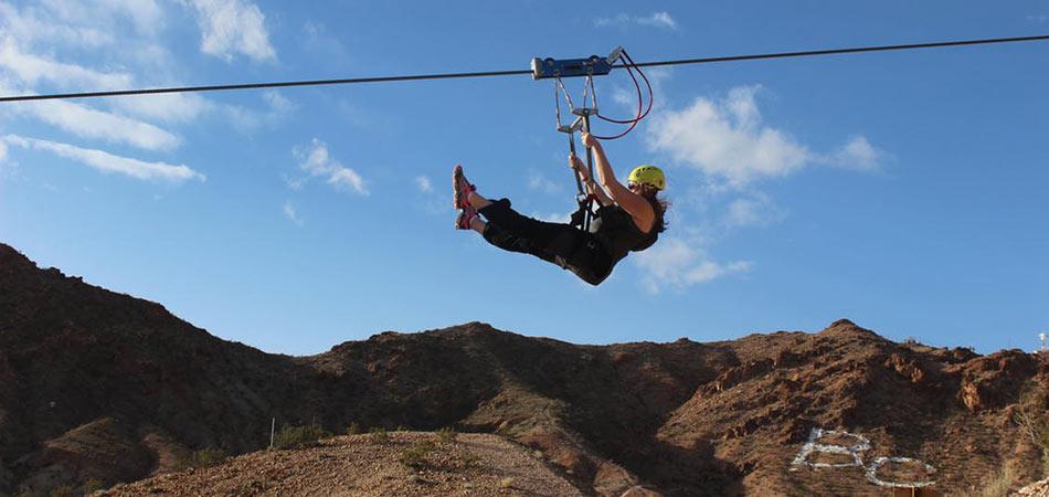 Bootleg Canyon Zipline 4
