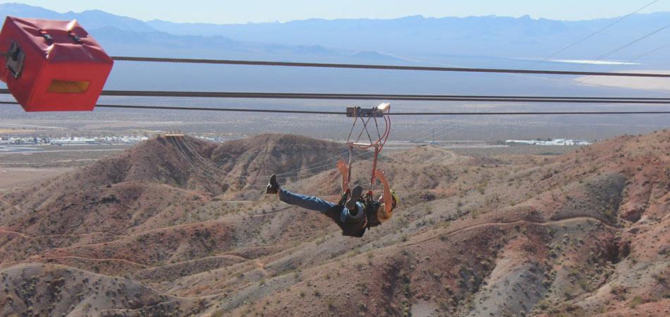 Bootleg Canyon Zipline 5