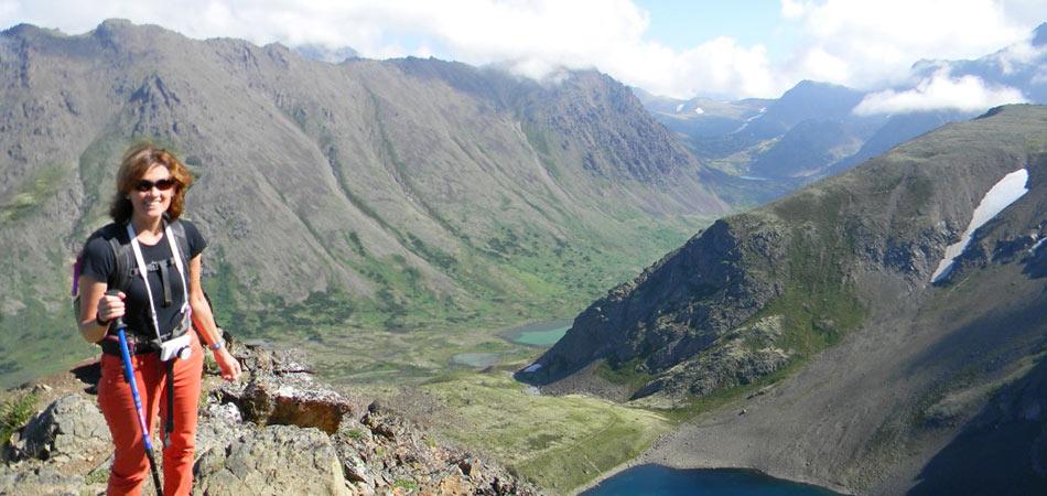 Hiking Chugach Hiker Overlook